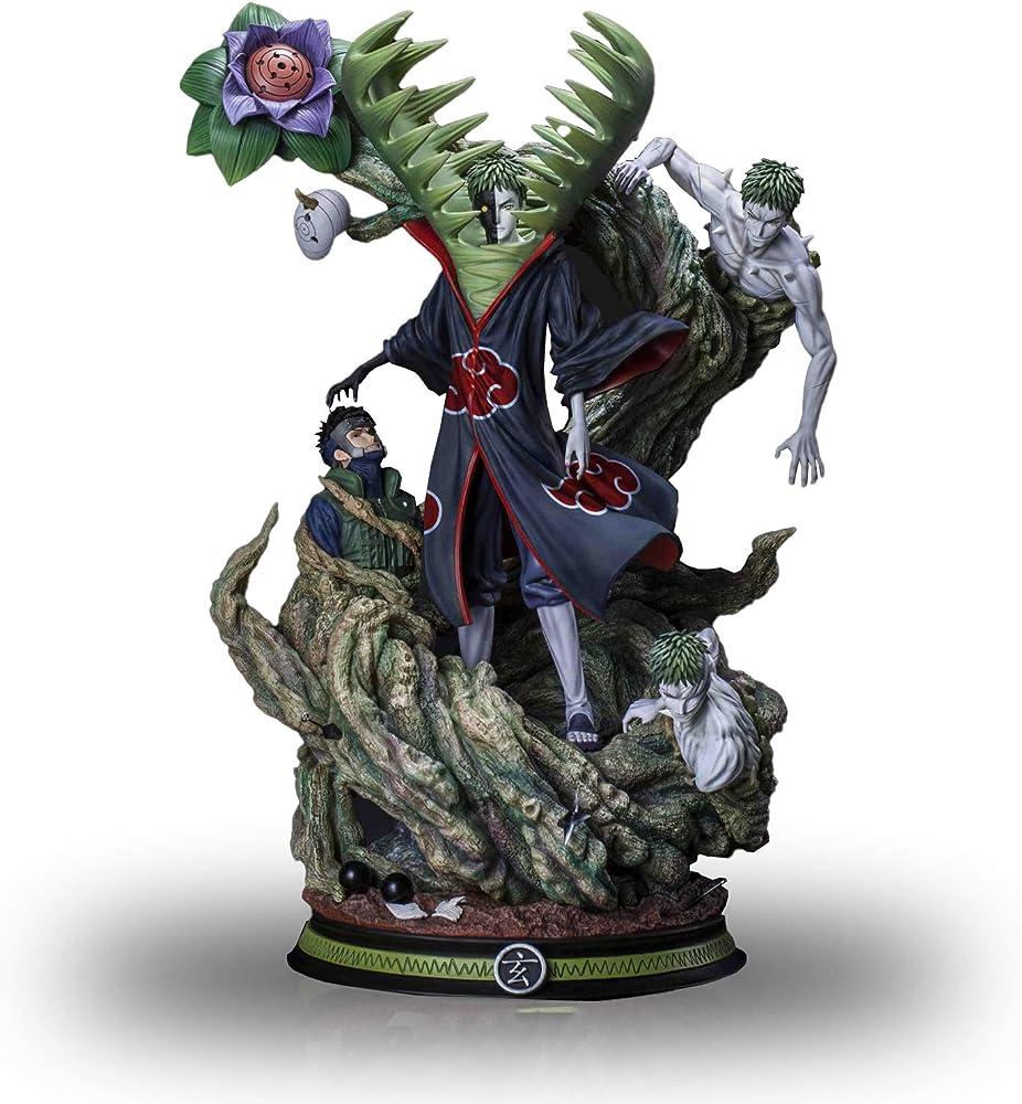 Wuhuayu figura di naruto anime, statua in resina delicata di zetsu , 400 cm, figura dipinta a mano YUKIYAFGK039K05E