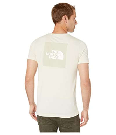 The North Face Short Sleeve Boxed Out Tri-Blend T-Shirt (Vintage White Heather/Vintage White) Men