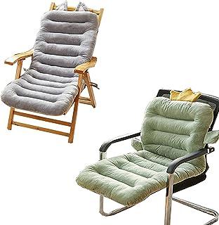 2 Cojín de Silla Jardin Conjunto de Asiento para Interior y Exterior Cómodo,Cojines para sillas, tumbonas, mecedoras terraza,Cactus