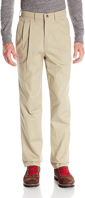 Red Kap Men's Pleated Front Cotton Pant