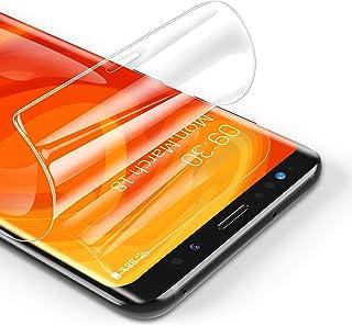 RIWNNI [3 Pezzi Pellicola Protettiva per Samsung Galaxy S8, Ultra Sottile Morbido TPU Pellicola Copertura Completa Protezi...
