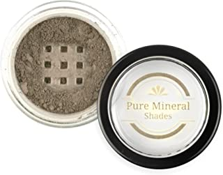 Mineral Eyebrow Powder by NuBeauti - Natural Brow Makeup Kit with Angled Contour Brush for Precision Sculpting to Color Eyebrows Precisely for Beautiful Perfect Brows (With Brush, Taupe)