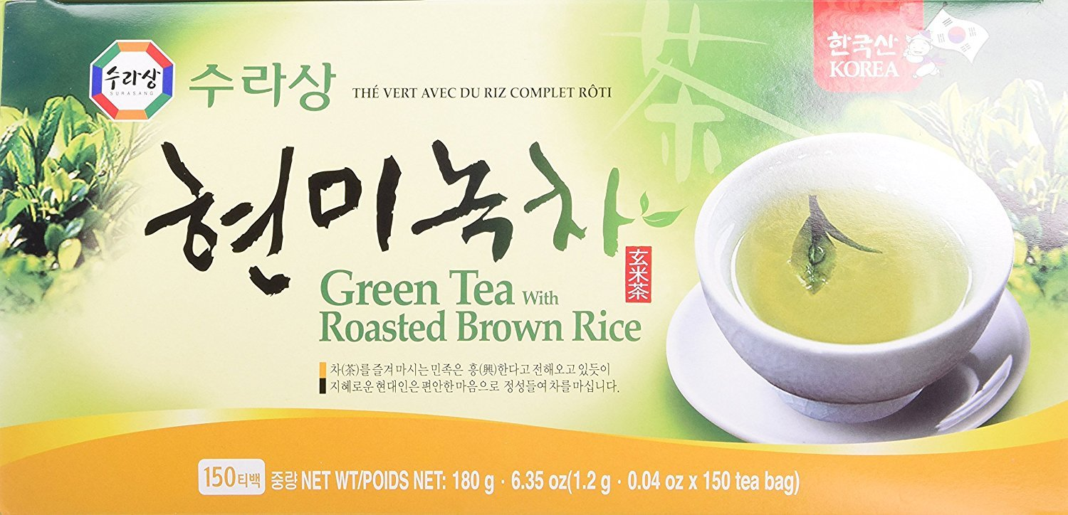 Green Tea Outstanding with Brown Rice Al sold out. Genmai-Cha Bags - 150