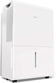 hOmeLabs 4,500 Sq. Ft Energy Star Dehumidifier for Extra Large Rooms and Basements - Efficiently Removes Moisture to Prevent Mold, Mildew and Allergens