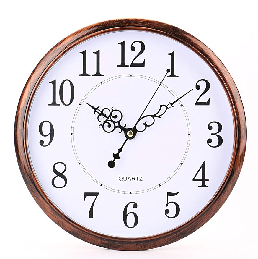 追記はず十分にwinkong スイープムーブメント式掛け時計 防塵クロック 壁掛け 静音 直径約30cm クラシック おしゃれ