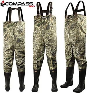 Compass 360 Oxbow Camo 2-Ply Rubber Chest Wader (10)- RTMX-5 Compass 360 Oxbow Camo 2-Ply Rubber Chest Wader (10)- RTMX-5