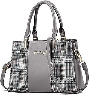 Handtaschen für Frauen, Damen-Handtasche mit oberem Griff, Umhängetasche, mehrfarbiges Design