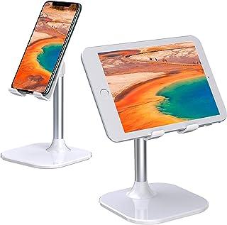 """Babacom Soporte Tablet, Portátil Soporte Movil Mesa, Ajustable Soporte iPad para Teletrabajo o Transmisión en Vivo, Compatible con iPad Pro 9.7, iPhone, Samsung, Kindle y Otros 4-10"""" Dispositivos"""