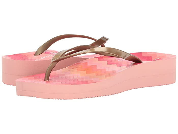 VIONIC  Coogee (Pink Zigzag/Gold) Womens Sandals