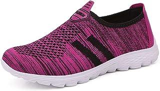 JIANKE Herren Damen Leichte Freizeitschuhe Atmungsaktiv Turnschuhe Sportschuhe Bequem Outdoor Fitnessschuhe Sneaker