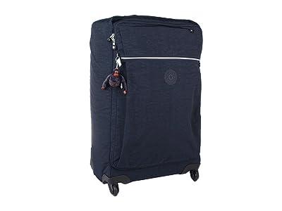 Kipling Darcey Medium Wheeled Luggage (True Blue) Luggage