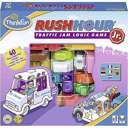 Think Fun 76337 Gioco di Logica Rush Hour Jr. [Versione Multilingue]