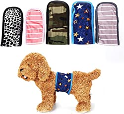 GAO Reusable Dog Special Diaper Convenient and Comfortable Soft Toilet Training with Dog Underwear Durable Courtesy Belt