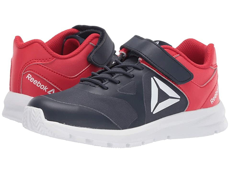 Reebok Kids Rush Runner A/C (Little Kid) (Navy/Red) Boys Shoes