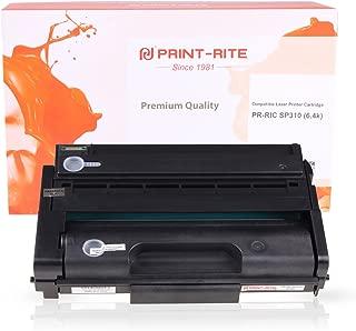PRINT-RITE 407245 SP310 Blcak Toner Cartridge 6,400 Page for Ricoh 325dnw 407245 SP 325dnw 325sfnw 311dnw 311ha sp325sfnw 325dnw sp311dnw sp32 Printer