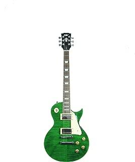 ivy ILS-300 EGR Les Paul Solid-Body Electric Guitar, Emerald Green