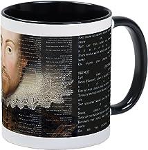 CafePress Shakespeare, Text Of Hamlet, Mug Unique Coffee Mug, Coffee Cup