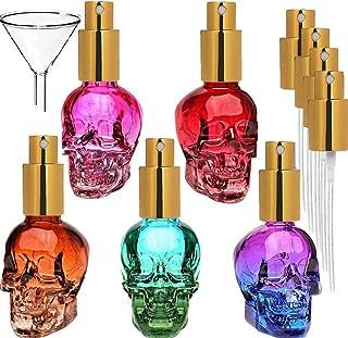 5pcs 1oz Skull empty Beatuy spray mist bottle atomizer bottle(30ml x 5pcs)