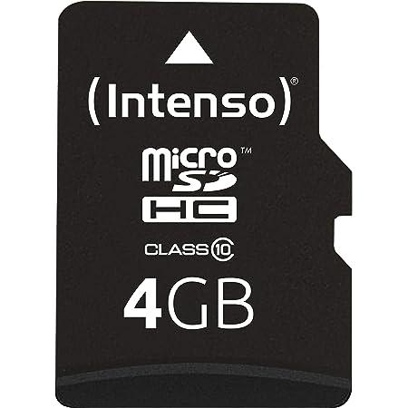 Intenso Micro Sdhc 4gb Class 10 Speicherkarte Inkl Computer Zubehör