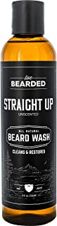 Sponsored Ad - Live Bearded: Beard Wash - Straight Up - Beard and Face Wash - 8 fl. oz. - Water-Based Formula with All-Nat...