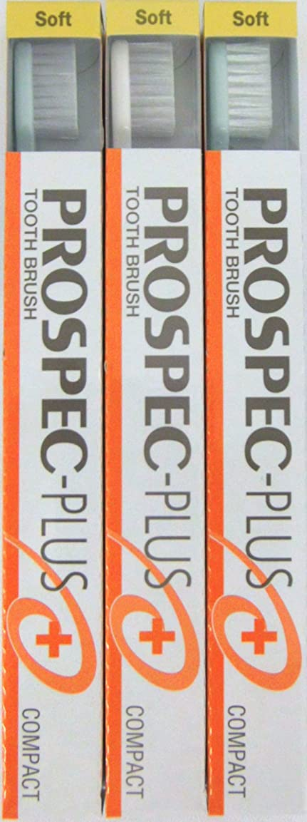 持ってる金額責GC プロスペック 歯ブラシプラス コンパクト S (3本セット)