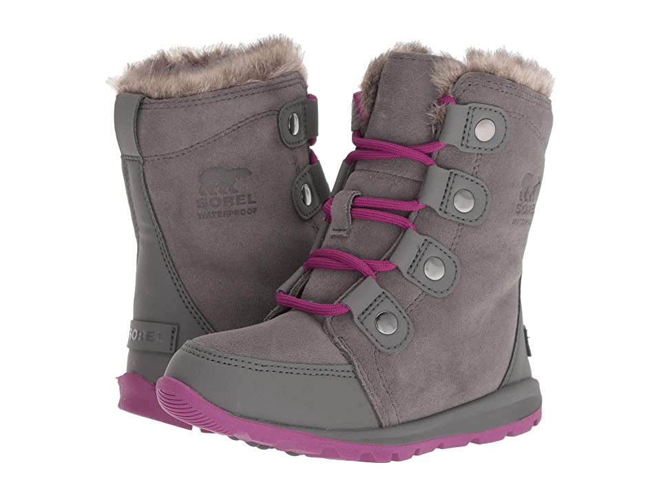 SOREL Kids Whitneytm Suede (Toddler/Little Kid) (Quarry/Raspberry) Girls Shoes