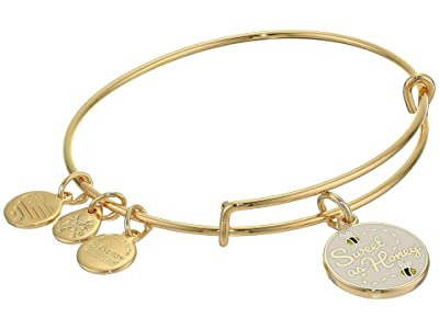 Alex and Ani Color Infusion Bangle Bracelet (Gold/Sweet as Honey) Bracelet