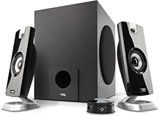 Best Cyber Acoustics 2.1 Subwoofer Speaker System with 18W of Power – Great for Music, Movies, Gaming, and Multimedia Computer Laptops (CA-3090) Green Reviews