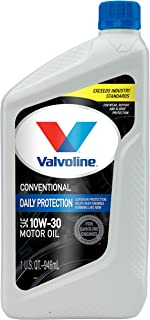 Valvoline  Daily Protection SAE 10W-30 Conventional Motor Oil 1 QT