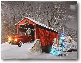 vintage truck christmas decor