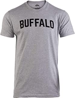 Buffalo   Classic Retro City Grey New York Lake Erie Vintage NY Men Women T-Shirt