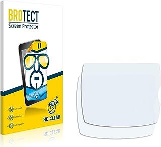 BROTECT 2x Schermbeschermer compatibel met Nikon D60 Screen protector transparant