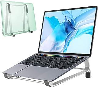 DK177 Laptop Stand,Aluminum Laptop Stand for Desk,Ventilated Ergonomic Computer Stand for Laptop, 2 in 1 Desgin Vertical L...