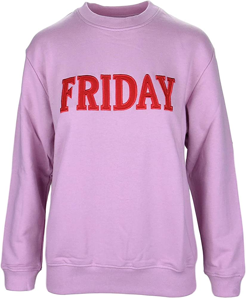 Alberta ferretti friday  , felpa per donna, women`s sweatshirt,100 % cotone ALBERTA FERRETTI J1701 Friday