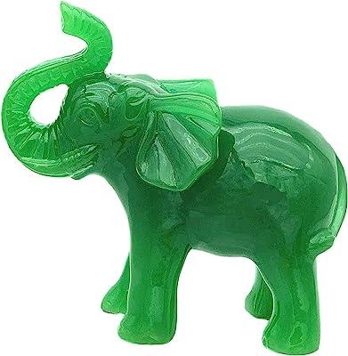StealStreet SS-MU-PIY608 13.25 Brown and Green Piyao Figurine