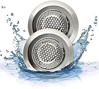 SUNSHINETEK Sink Filter Set Bad Abfluss Sink Sieb Silikon Drain Protector K/üche Abfluss Abdeckung Trap Hair Catcher Filter Stopper 5 Sink Filter, 10 St/ück Sink Filter Netze