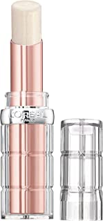 L'Oreal Paris Makeup Colour Riche Plump & Shine Lipstick, for Glossy, Radiant, Visibly Fuller Lips with an All-Day Moisturized Feel, Lychee Plump, 0.1 oz.
