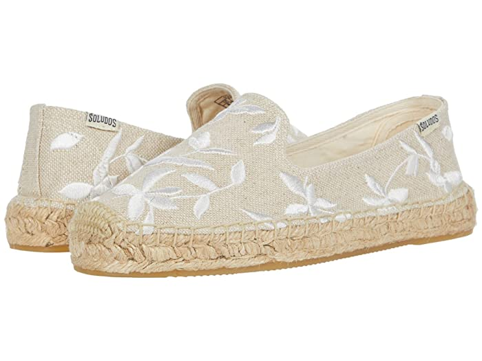 Soludos  Shiloh Embroidered Espadrille (Sand) Womens Shoes