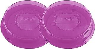 Unbekannt CAPFLEX M, Set de 2 Tapas de Silicona, Color Rosa traslúcido