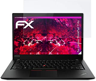 atFoliX Kunststof Gepantserde Glasfolie compatibel met Lenovo ThinkPad T14s Glasfolie, 9H Hybrid-Glass FX Gepantserd Glas ...