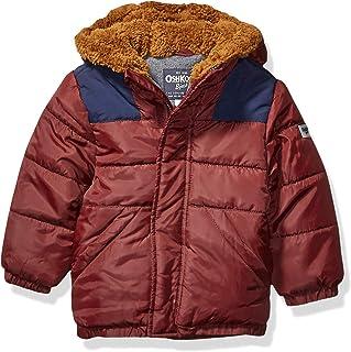 OshKosh B'Gosh Boys' Big Heavyweight Winter Jacket with Sherpa Lining