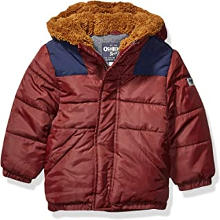 Boys' Heavyweight Winter Jacket with Sherpa Lining