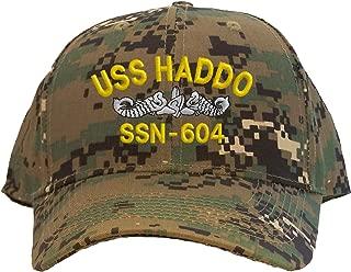Spiffy Custom Gifts USS Haddo SSN-604 Baseball Cap Embroidered