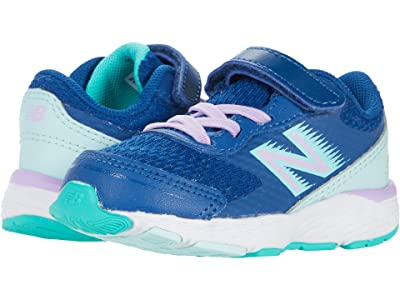 New Balance Kids 680v6 (Infant/Toddler) Girls Shoes