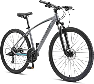 "Progear Sierra 700 * 17"" Hybrid Bike Graphite"