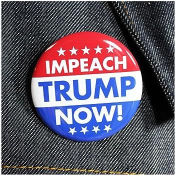 "BUTTON PIN 1/""  Impeach Trump"