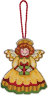 Dimensions Counted Cross Stitch Angel Ornament Kit, 3.25