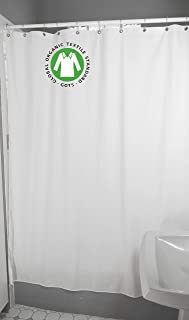 Bean Products Organic Cotton Stall Shower Curtain - 54