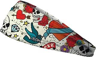 JUNK Brands Wreckless Hearts-BBL Wreckless Hearts Big Bang Lite Headband