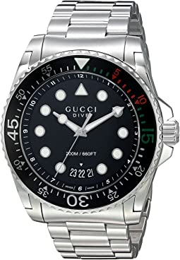 Gucci - Dive 45mm Bracelet - YA136208